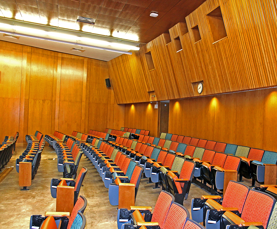 The Univeristy of Texas Art Building Auditorium 1