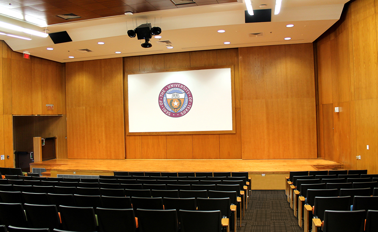 The Univeristy of Texas Art Building Auditorium 3